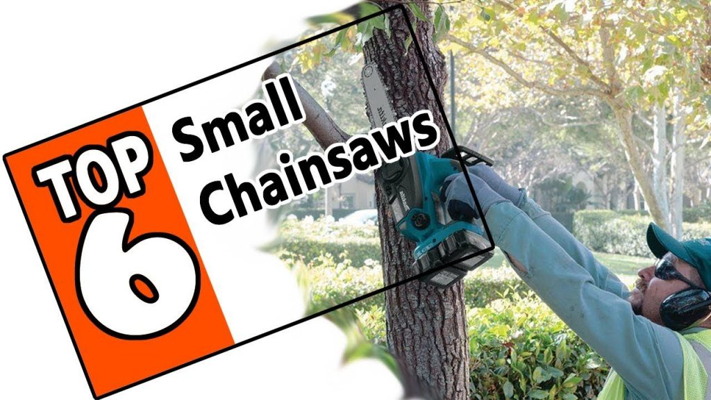 Top 6 Small Chainsaws Reviewed